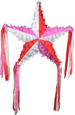Valentine's Day Star Pinata