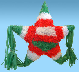 Traditional Mexican Star Pinata