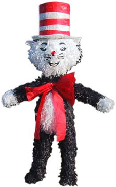 Dr Seuss Cat in the Hat Pinata