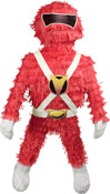 Red Mighty Morphin Power Rangers Pinata