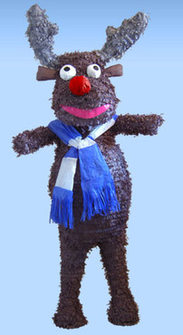 Rudolf the Red Nosed Reindeer Pinata