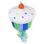 Boy&#039;s Cupcake Pinata