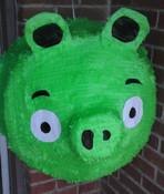"""Green Piggy Pinata - Jumbo 24"""""""