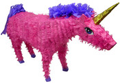 Pink Unicorn Pinata