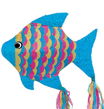 Girl's Fish Pinata