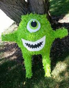 One Eyed Monster Pinata **FREE SHIPPING**