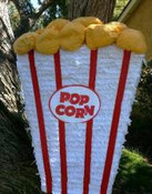 Pop Corn Bucket Pinata **FREE SHIPPING**