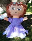 Purple Princess Pinata **FREE SHIPPING**