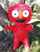 Red Monster Pinata **FREE SHIPPING