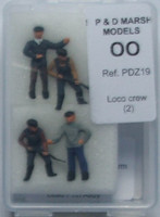 P&D MARSH MODELS - Loco Crew (Ready Painted) '00'