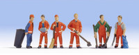 NOCH 15029 City Cleaning 'H0' Model Figures