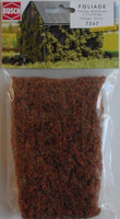 BUSCH 7347 Micro Flock Foliage Sheet (3 Colour Medium Brown) 25cm x 15cm