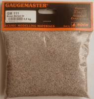 Gaugemaster GM111 -  Brown Ballast 500g '00' Gauge