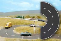 BUSCH 7098 Semi Circle Road 80mm x 230mm 00/HO