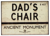 Steam Railway Co. Plaque - Dad's Chair