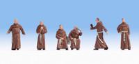 NOCH 15401 Monks 00/HO Model Figures