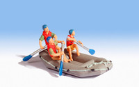 NOCH 16818 White Water Rafting 00/HO Model Figures
