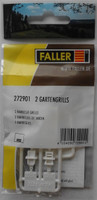FALLER 272901 Barbeque Grills (2) 'N' Gauge Plastic Model Accessories