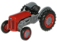 OXFORD DIECAST 76TEA002 - Ferguson TEA Tractor - Red '00'