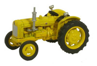 OXFORD DIECAST 76TRAC003 - Highways Fordson Tractor - Yellow '00'