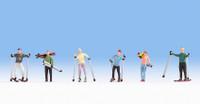 NOCH 15827 Skiers 00/HO Model Figures