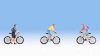 NOCH 15899 Mountainbikers 00/HO Model Figures