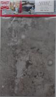 BUSCH 7416 Decor Card (Weathered Asphalt) 2 Sheets 210 x 148mm 00/HO