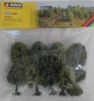 NOCH 26901 Hobby Trees - Deciduous 5cm - 9cm (10) 00/HO