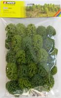 NOCH 26801 Deciduous Trees 5cm - 9cm (25) 00/HO Gauge