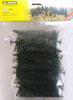 NOCH 26822 Fir Trees 16cm - 19cm (10) 00/HO Gauge
