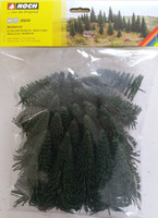NOCH 26821 Fir Trees With Planting Pin  5cm - 14cm (25) 00/HO Gauge