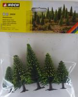 NOCH 26926 Spruce Trees 5cm - 9cm (5) 00/HO Gauge