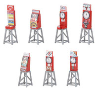 FALLER 180946 Funfair Slot Machines (7) 00/HO Model Kit