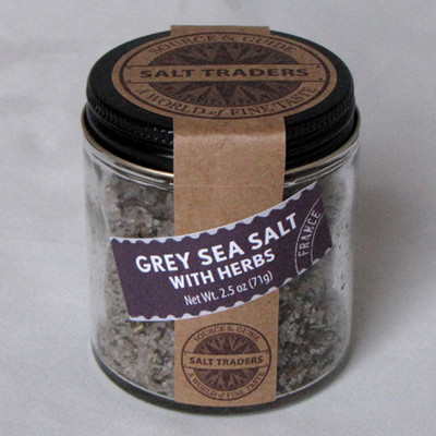 Grey Sea Salt with Herbs | Sel Gris with Herbs