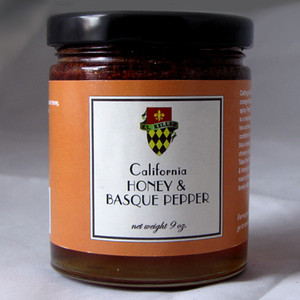 Salt Traders California Orange Blossom Honey with Basque Pepper