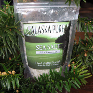 Alaska Pure Sitka Spruce Sea Salt | Salt Traders