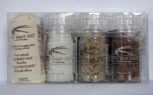 South African Four Pack With Wine Salt