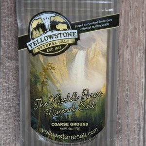 Yellowstone Natural Salt
