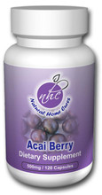 Freeze Dried Acai Berry (500 mg / 120 capsules)