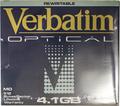 Verbatim 4.1gb Rewritable MO Disk