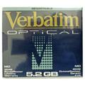 Verbatim 5.2GB MO Disk RW