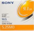 Sony EDM 9100c 9.1gb Rewritable MO Disks