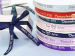 3/8 Personalized cut ribbon