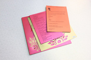 Daisy Flower Invitation (Set of 25 cards)