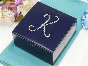 100 Personalized Large Diamond Letters 4x4x2 Boxes