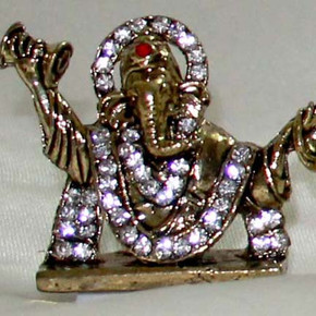 Indian Gift Favors ( Antique singing Ganesh)