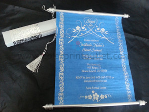 Buy exclusive Scroll Invitations Color Print Outlet