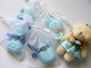 Handmade Soap Favor - Boy - SF01 Set of (10)