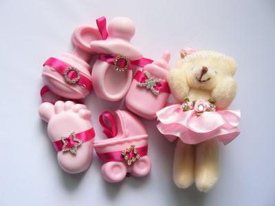 Handmade Soap Favor - Girl - SF02