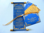 Castle wedding invitation, Royal wedding (Set of 25) - MSBT - 012 (MSBT - 012)
